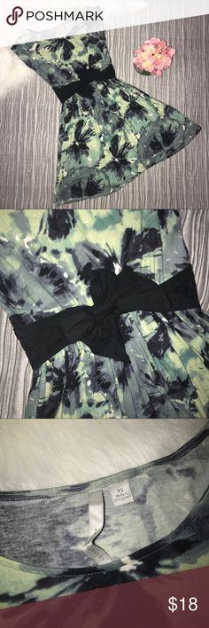 "LC Lauren Conrad tye Dye dress Size XS Bust 34"" Waist 25"" (elastic waist) Length 35"" LC Lauren Conrad Dresses Mini"
