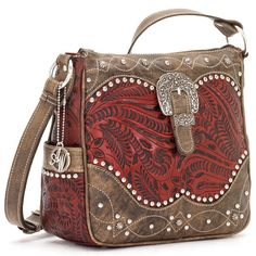 American West Annies Secret 8170789 Concealed Carry Crossbody Bag
