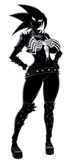 Want to discover art related to symbiote? Check out inspiring examples of symbiote artwork on DeviantArt, and get inspired by our community of talented artists. Marvel Venom, Marvel Art, Marvel Dc Comics, Marvel Heroes, Venom Girl, Spider Girl, Spiderman Art, Deadpool, Comics Girls