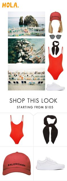 """""""Liguria"""" by asmin ❤ liked on Polyvore featuring Bower, Chloé, Balenciaga, Vans and Christian Dior"""