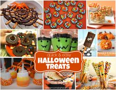 Quick & Easy Halloween Treats - momsbyheart.net