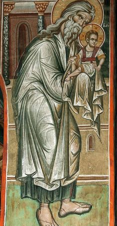 Byzantine Icons, Fresco, Vignettes, Christianity, Saints, Greek, Sacramento, Religion, Painting