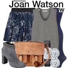 Resultado de imagem para look joan  watson elementary