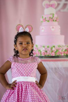Festa Infantil. Aniversário Infantil. Criança. Menina. Minnie.