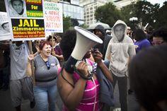 Trayvon Martin Protests In New York