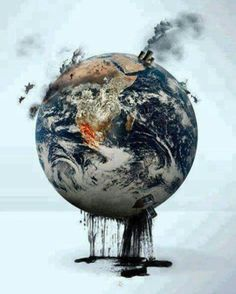How sad isn't it? God creates us to be a better person, respect others and earth too. Save our planet now, do whatever you can do to save this earth
