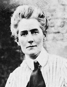 Edith Cavell was the World War I British nurse who is celebrated for saving the lives of soldiers in Brussels from all sides without distinction. She and Belgian and French colleagues helped over 200 Allied soldiers escape from German-occupied Belgium. She was arrested, tried with 33 others by a German military court, found guilty of 'assisting men to the enemy' and shot by a German firing squad on October 12 1915.