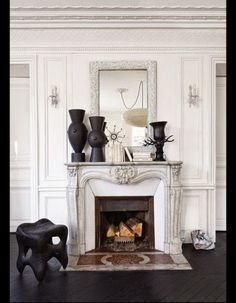 [CasaGiardino]  ♛  South Shore Decorating Blog: Black and White Done Right (Part 1)