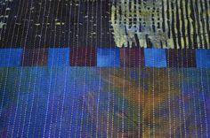 detail from an incredible quilt by Helene Davis - blog guest - rosehughes.blogspot.com