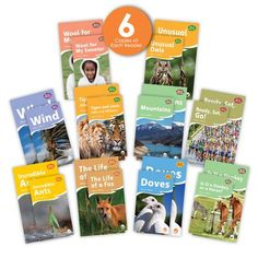 The Real World (Fables) Big Book Combo Set contains 10 big book versions of informational texts from the Fables & the Real World series, and 6 copies of each of the 10 matching leveled readers. This combo set offers a total of 70 books. Guided reading level range: E–I. Leveled Books, Leveled Readers, Emergent Readers, Nonfiction Text Features, Fiction And Nonfiction, Fox And Dove, First Grade Words, World Teachers, Guided Reading Levels