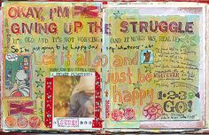 Letting go... #art #journal #sketchbook