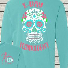 d79ed235 X-Ray Technologist Monogrammed Customized Shirt Personalized Comfort Colors  by AutumnReeseDesigns on Etsy Monogram Shirts