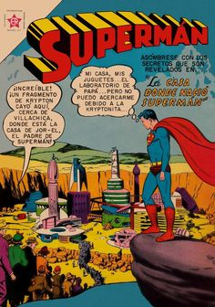 Superman - but what language is it?
