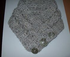 Simple Quick Crocheted Neck Warmer by Cathy Wood - Free Pattern