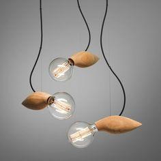 Fairy Wood Art Mini Pendant Lamp Single Light - Ceiling Lights - Lighting