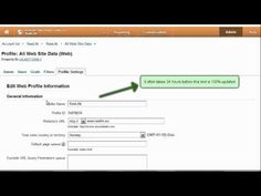 Are you bored with the All Web Site Data description of your profiles in Google Analytics? Find out how to get rid of it watching this video. #google #googleanalytics