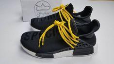 UA NMD PW Human Race Black Yellow White