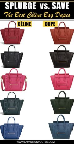 The Most-Wanted Celine Bag Dupes + Where to Get Them for Less 04e18a1fccbf0
