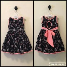 For my kid Girls Frock Design, Baby Dress Design, Kids Dress Wear, Kids Gown, Baby Frocks Designs, Kids Frocks Design, Frocks For Girls, Little Girl Dresses, Baby Frock Pattern