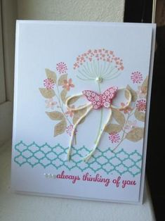 Always Thinking of You by Heather Beck - Cards and Paper Crafts at Splitcoaststampers