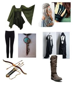 Archery Outfit by dixieq on Polyvore featuring polyvore fashion style Warehouse clothing
