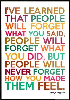 R.I.P. Maya Angelou