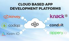 Now it becomes vital to have applications for both the web and mobile platforms. So these are few cloud-based tools to create apps.