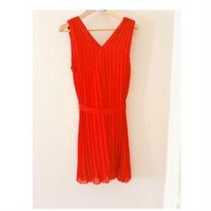 07acdb2ce098f Vintage Kırmızı Elbise #yılbaşıpartisi #vintage #kırmızı #ikinciel