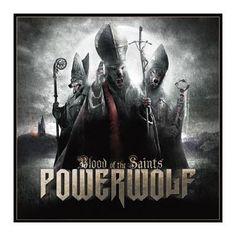 """L'album dei #Powerwolf """"Blood Of The Saints""""."""