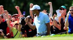 Tiger Woods shoots leads by 7 ! Tiger Woods, Golfers, Mj, Sports, Hs Sports, Excercise, Sport, Exercise