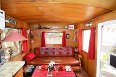 Camper/RV in Altadena, United States. Our 1954 Prairie Schooner travel trailer is lovingly restored. This ain't the Ritz but it is…