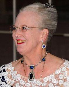 THE QUEEN H.M. Queen Margrethe II of Denmark Denmark Royal Family, Danish Royal Family, Princess Marie Of Denmark, Princess Alexandra, Royal Tiaras, Royal Crowns, Adele, Queen Margrethe Ii, Danish Royalty