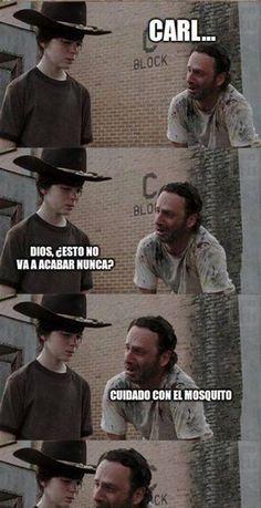 Meme nuevo de Walking Dead, te vas a reir. - Taringa!