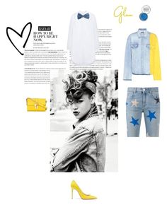 """""""Around the way girl!"""" by cinnamonrose30 ❤ liked on Polyvore featuring STELLA McCARTNEY, Off-White, Mulberry, MANGO, Christian Louboutin, Dolce&Gabbana and Obsessive Compulsive Cosmetics"""