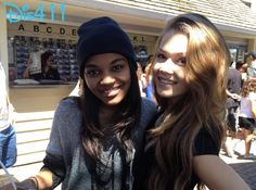 Photo: Kelli Berglund With China Anne McClain February 20, 2014