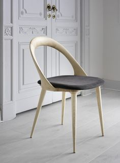 The beautiful Ester chair by Stefano Bigi for the Italian company Porada.