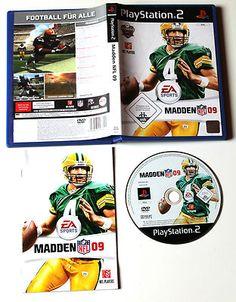 Madden NFL 09 für Playstation 2 in OVP!