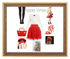 """""""Apple White"""" by mariab6 ❤ liked on Polyvore featuring BCBGMAXAZRIA, J.Crew, SPANX and Kate Spade"""