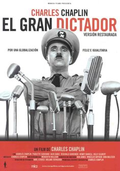 El gran dictador (The Great Dictator, Dirigida por Charlie Chaplin. Paulette Goddard, Film Movie, Cinema Movies, Movie Theater, Charlie Chaplin, Old Film Posters, Cinema Posters, O Grande Ditador, Film Mythique