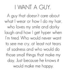 If there's even such thing as a guy like this....