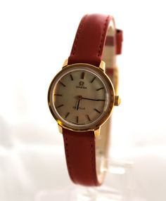 Mad Men Style Vintage Omega DeVille Ladies Watch by rubyfigcouture, $359.00