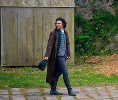 Practicing his dance moves outdoors, just as Demelza did.