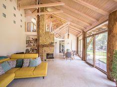 Natural Materials, Loft, Windows, Doors, Interior Design, Bed, Furniture, Beauty, Home Decor