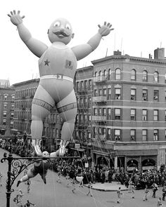 The Macy's Thanksgiving Parade used to just let the balloons float off