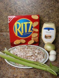 Treasure Found: Granny Jordan's Chicken Casserole / Salad ~ http://www.southernplate.com