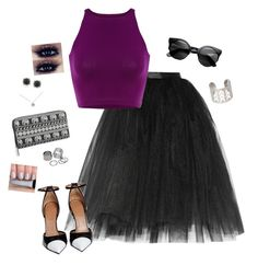 """""""Classic Queen"""" by hanakdudley ❤ liked on Polyvore featuring mode, Ballet Beautiful, Givenchy, maurices, Tiffany & Co., Pieces et Mark Broumand"""
