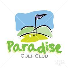 Paradise Golf Club | StockLogos.com