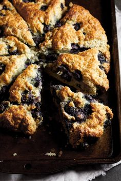 Blueberry lemon scones #recipe #breakfast