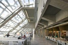 Jean de Giacinto – Bibliothèque universitaire de Bayonne (2009) © Jean de Giacinto, Architecture Composite