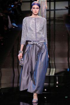 Armani Privé Spring 2014 Couture Collection Photos - Vogue